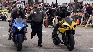 Bikers VS Police | Daytona Bike Week 2019