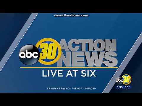25 Days Of News 2017 Day 20 KFSN ABC 30 Action Live At 6pm Open December