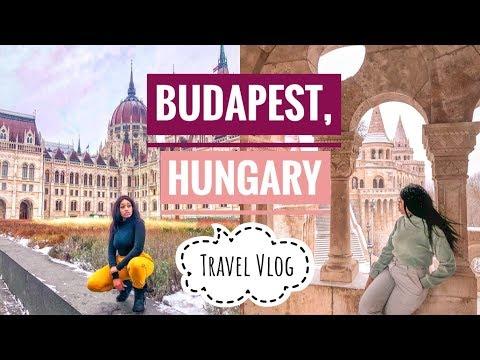 SOLO TRAVEL TO BUDAPEST, HUNGARY Vlog !! | February 2019
