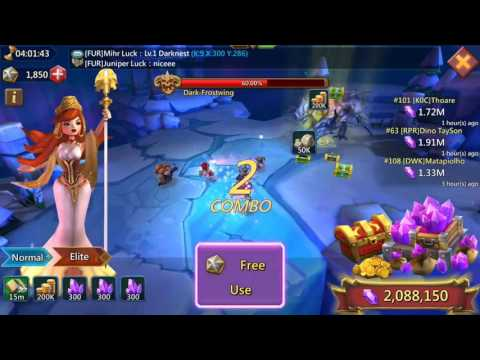 Lords Mobile Labyrinth Jackpot
