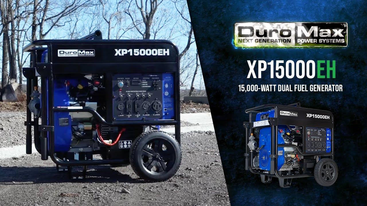 XP15000EH 15,000 Watt Dual Fuel Generator – DuroMax Power