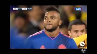 Colombia Vs Australia La increible Mala Suerte Miguel borja.