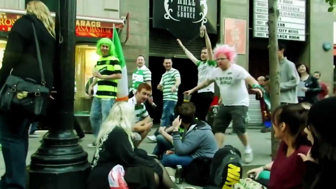 Celtic Fans + Young Guns