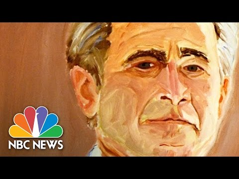 George W. Bush Enters The Art World | NBC News