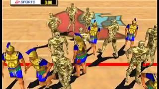 Madden 2000 Full Game - Praetorians vs Mummies @ Nile High Stadium  (N64)