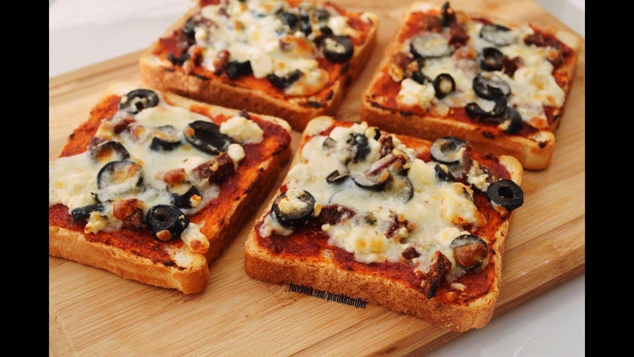 Mini pizza tarifi