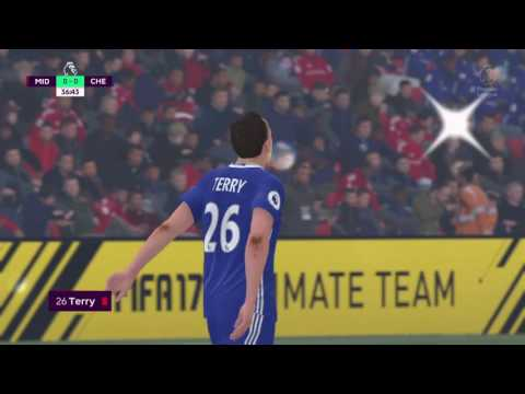 FIFA 17 - Premier Legue! Match Day 12! Middlesbrough Vs Chelsea FC