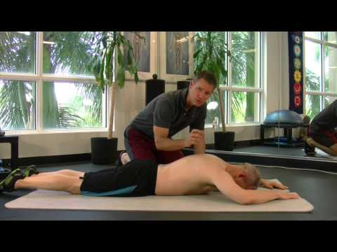 3 Month Prone Exercise For Winging Scapula And Shoulder Rehabilitation.