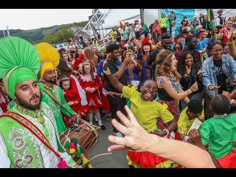 Llangollen parade of Nations 2017