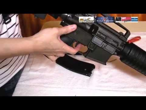 【Airsoft】KingArms M4 GBB power tuning
