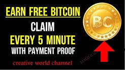 0.01 Bitcoin Free Earn Daily With Instant Payout 2017 - New Method