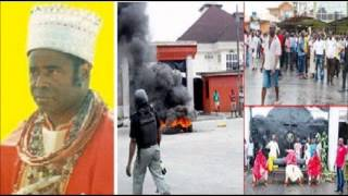 Monarch of Warri Denounces 500 year old Tradition for Christ Sparks Protests
