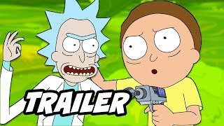 Rick And Morty Season 4  Teaser Trailer And Release Date Breakdown