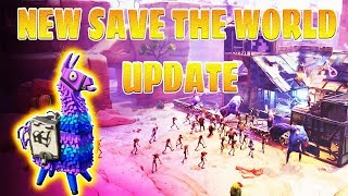 NEW FORTNITE SAVE THE WORLD UPDATE ( FOUNDERS PACK RETURNING AND TROLL STASH OPENING)