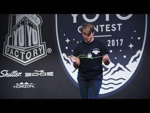World Yoyo Contest 2017 Women Div - Abigail Brodsky - film by C3yoyodesign