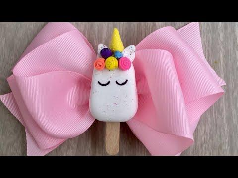 Paletas unicornio 🦄como hacerlas?