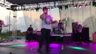 Jordan Salinas singing You Know How I Do with Taking Back Sunday (Guam)