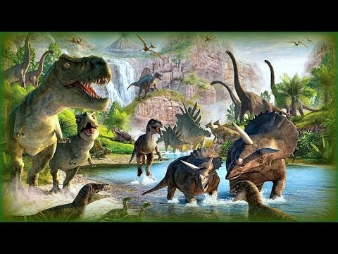 ♘ Time Travel: Among the Dinosaurs
