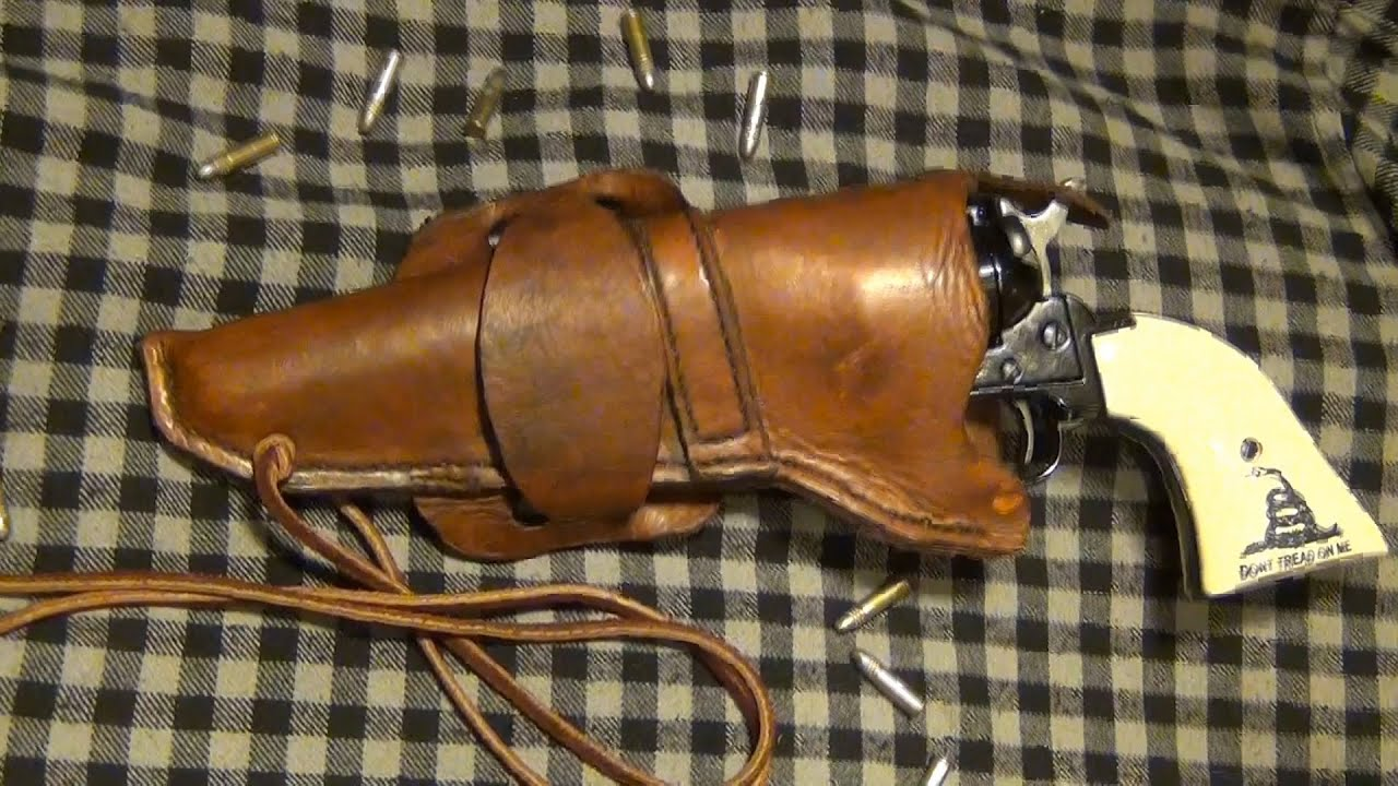 How To Make a Leather Western Cowboy Holster, 3/3