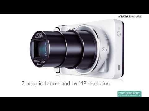 Samsung Galaxy GC100 16 MP Digital Camera (Black)