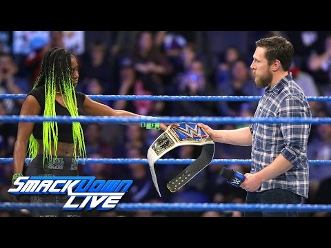 Naomi is forced to relinquish the SmackDown Women's Championship: SmackDown LIVE, Feb. 21, 2017