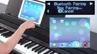 """""""Listening to Music Through the Piano's Speakers (Bluetooth Audio)"""" Roland GP/LX/HP/DP series #07"""