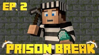 Minecraft Prison Break - Episode 2 - RANK G AND PVPING! (Pristine Prison)