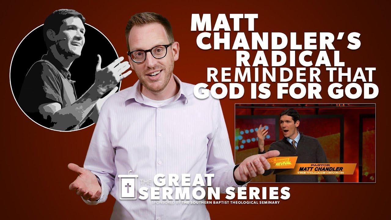 Matt Chandler's Radical Reminder that