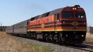 Freight Trains over the Pleurisy Plains: Australian Trains