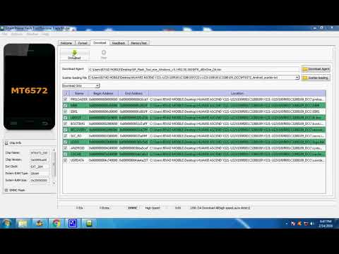 How To Flash HUAWEI Y336 -u02 _ Upgradedownload by Systèmes