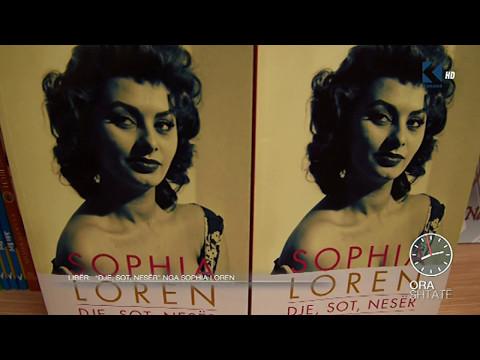 """Ora 7 -  Libër """"Dje, sot, nesër"""" nga Sophia Loren - Klan Kosova"""