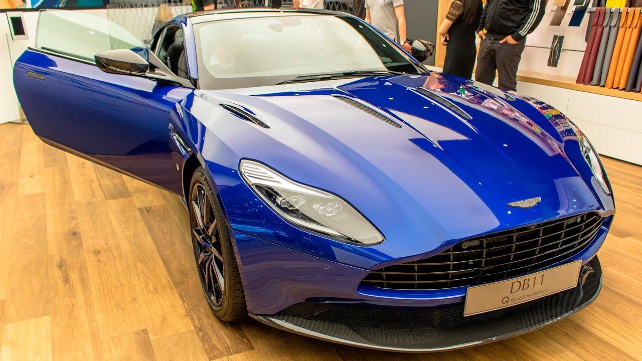 Aston Martin Db11 Q Series Geneva Motor Show 2017 Hq Youtube