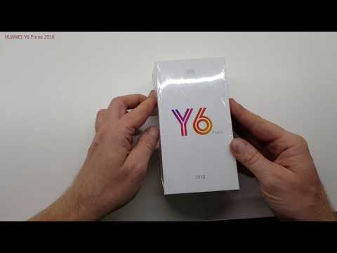 HUAWEI Y6 Prime 2018 - UNBOXING & FIRST START!!! (web,youtube,game)