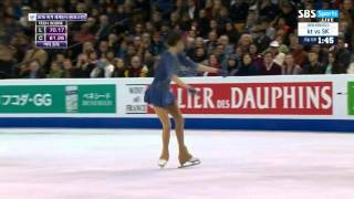 2016 Worlds Ladies LP Evgenia Medvedeva Dance For Me Wallis