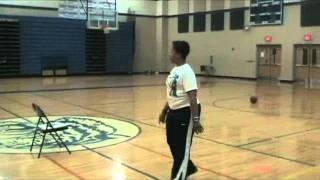 ADHill Basketball Reverse Pivot