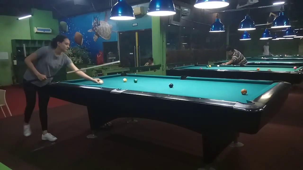 Nony Cirebon Vs Nikran Di 9 Ball Tournament Green Garden Billiard Jakarta 2018 Youtube