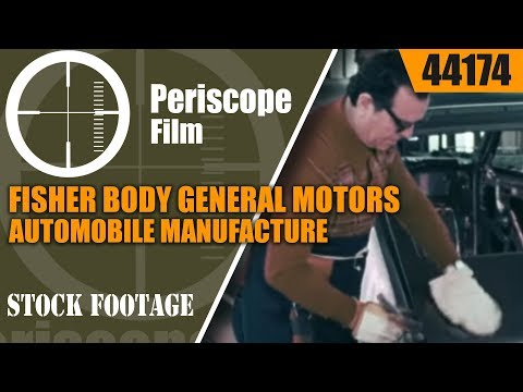 FISHER BODY GENERAL MOTORS AUTOMOBILE MANUFACTURE 44174