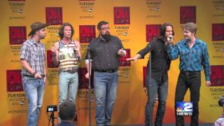 home free performs at cma fest press conference