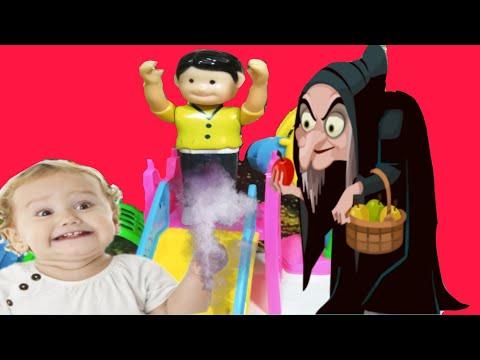 الساحرة حولت بابا لنونو 👶👶العاب سيمبا سون!! حكايات بالعربية للأطفال،The witch has turned daddy to