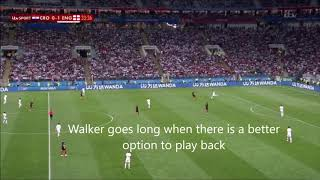 England v Croatia The Worlds Best Tactical Analysis, 11-07-2018