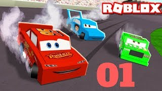 Cars 3 ROBLOX save Lightning McQueen [1]
