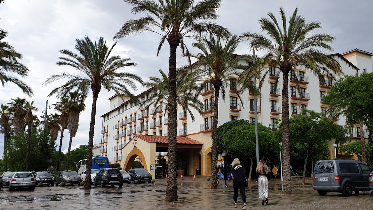 Download Hotel El Paso Full Resort Tour & El Coyote Restaurant PortAventura World Costa Dorada, Salou, Spain