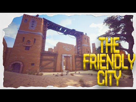 Location Of Silver Ore! The Friendly City! - Conan Exiles -