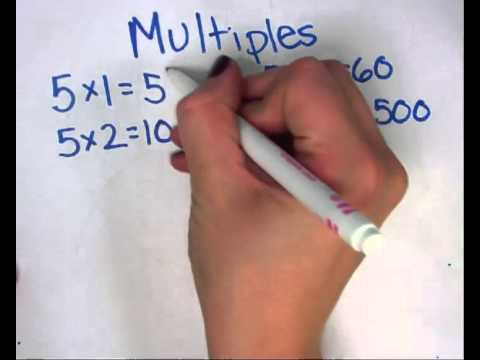 Finding Multiples of a Number