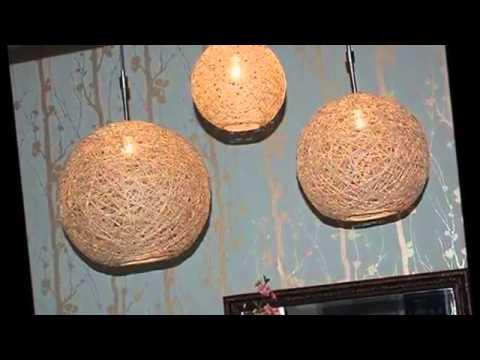Как сделать абажур для люстры своими руками 2 варианта