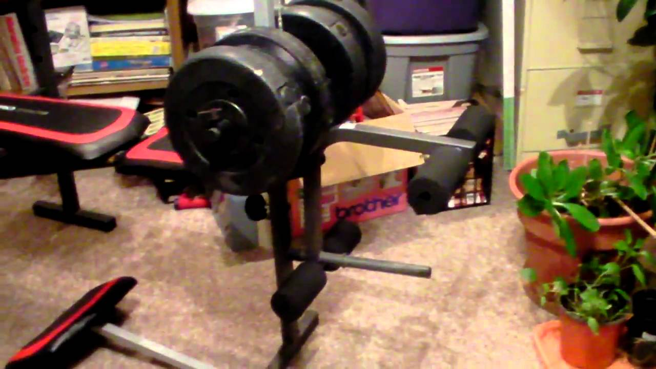 Weider Pro 290W Excercise Bench - YouTube