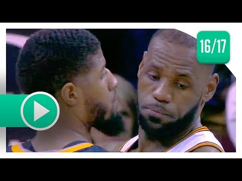 LeBron James vs Paul George EPIC Duel Highlights (2017.04.02) Pacers vs Cavaliers - MUST SEE