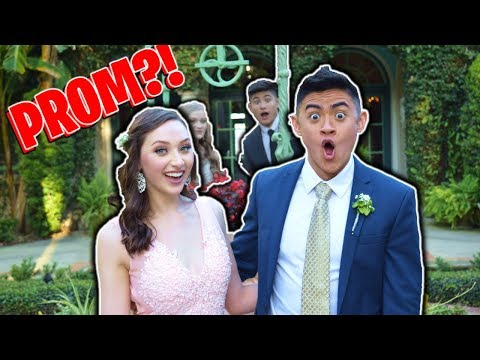 SURPRISING FANS at PROM!