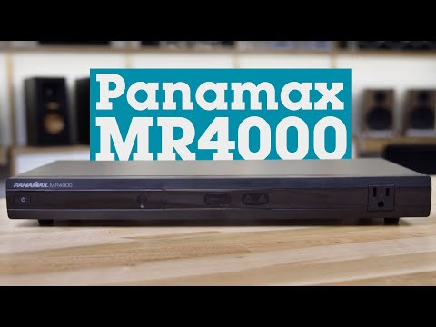 Panamax MR4000 power line conditioner and surge protector | Crutchfield video