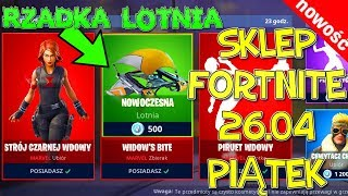 Fortnite 26.04 Store-SKIN Avengers-Black Widow (Avengersi bundle) Rare hang-glider moderne